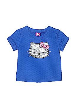 Hello Kitty Short Sleeve Top Size 5