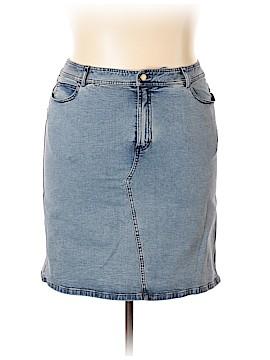 Dana Buchman Denim Skirt Size 16