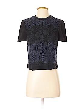 A.L.C. Short Sleeve Silk Top Size 0