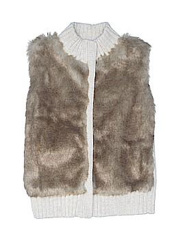 Gap Kids Faux Fur Vest Size 10