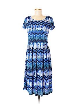 Kim Rogers Casual Dress Size M (Petite)