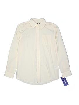 Cherokee Long Sleeve Button-Down Shirt Size L