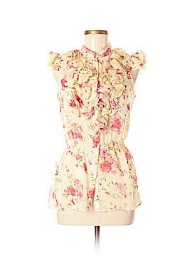 Antilia Femme Short Sleeve Blouse Size M