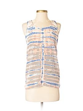 Cynthia Rowley for T.J. Maxx Sleeveless Silk Top Size S
