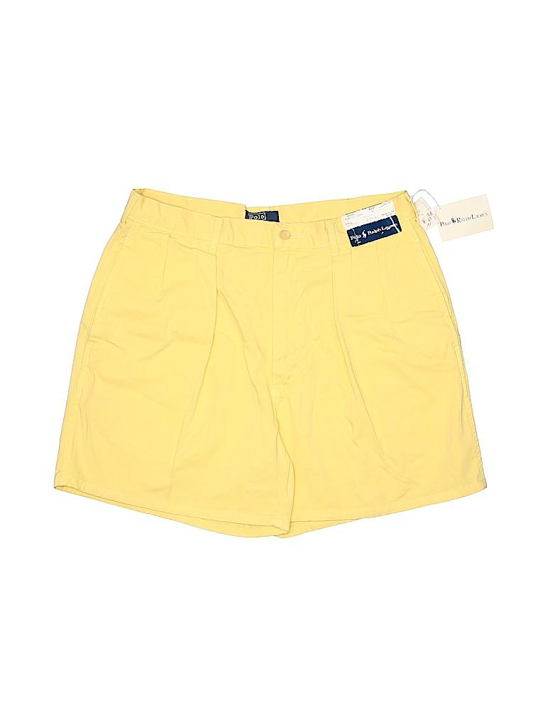 Polo by Ralph Lauren Women Khaki Shorts 34 Waist
