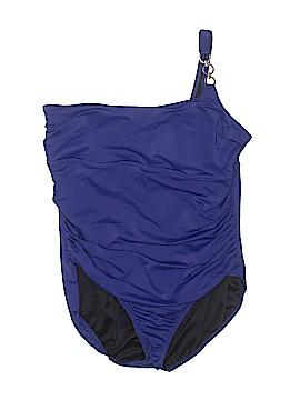 Lands' End One Piece Swimsuit Size 18 (Plus)