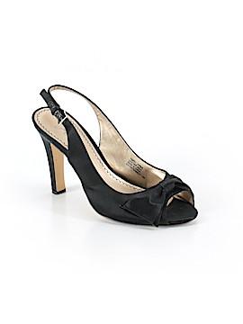 Platinum Heels Size 10