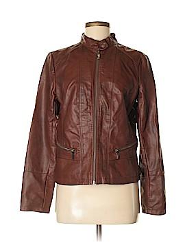 Bernardo Faux Leather Jacket Size M