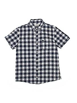 Abercrombie Short Sleeve Button-Down Shirt Size X-Large (Kids)