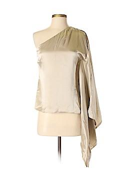 Robert Rodriguez Short Sleeve Silk Top Size 2