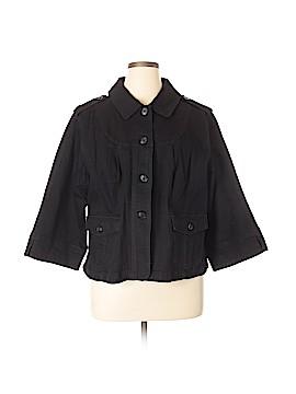 Motto Denim Jacket Size 2X (Plus)