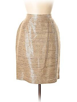 Thierry Mugler Silk Skirt Size 42 (FR)