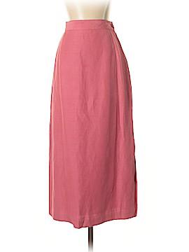 Laura Ashley Silk Skirt Size 8