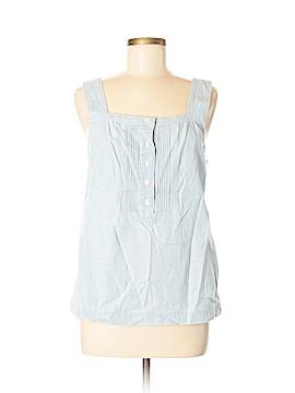 J. Crew Factory Store Sleeveless Button-Down Shirt Size 6