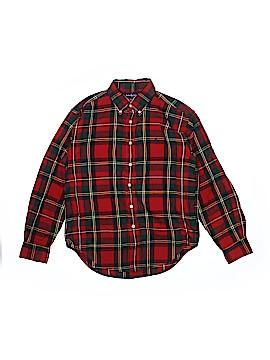 Ralph by Ralph Lauren Long Sleeve Button-Down Shirt Size 12