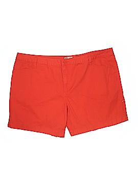 Faded Glory Khaki Shorts Size 26 (Plus)