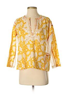 Vineet Bahl 3/4 Sleeve Blouse Size S