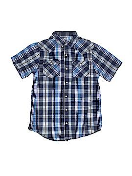 Arizona Jean Company Short Sleeve Button-Down Shirt Size 14