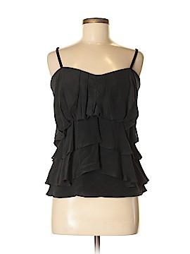BCBGMAXAZRIA Sleeveless Silk Top Size M