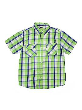 Timber Short Sleeve Button-Down Shirt Size 14
