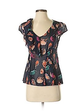Meadow Rue Short Sleeve Blouse Size 0