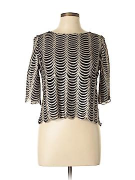 Francesca's 3/4 Sleeve Top Size M