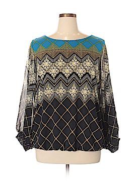 Alfani Long Sleeve Blouse Size 2X (Plus)