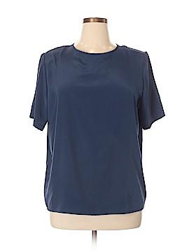 Kathie Lee Short Sleeve Blouse Size 16