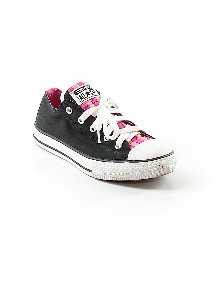 Converse Stripes Black Sneakers Size 3 - 32% off  dacfea69b