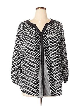 Calvin Klein 3/4 Sleeve Blouse Size 1X (Plus)