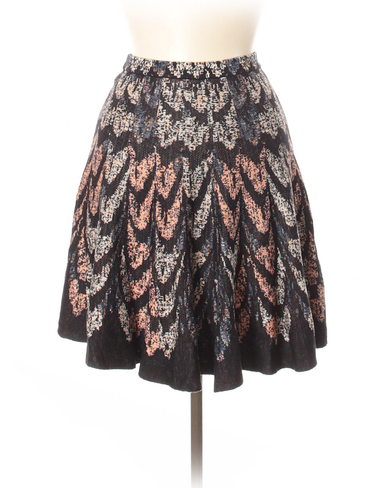 Boutique Skirt Boutique leisure Silk BCBGMAXAZRIA leisure qxdF4qwXa