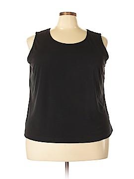 Hillard & Hanson Sleeveless Blouse Size 3X (Plus)