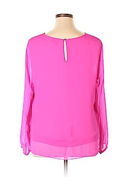 CeCe Long Sleeve Blouse Size XL