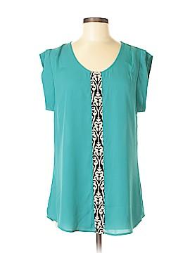 THML Short Sleeve Blouse Size M