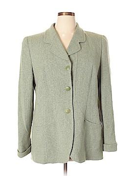 Louis Feraud Wool Blazer Size 16