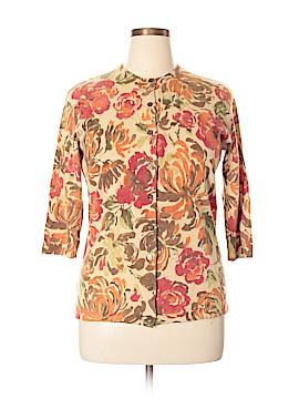 Sarah Spencer Wool Cardigan Size 1X (Plus)