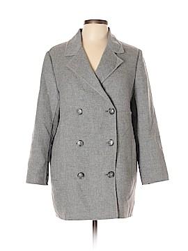 Massimo Dutti Wool Coat Size 12