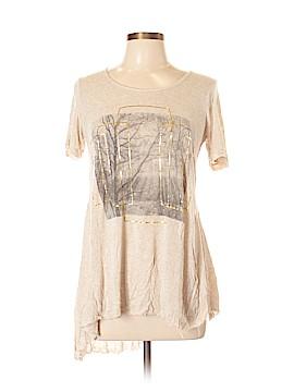 Sun & Shadow Short Sleeve Top Size L