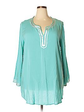 Twiggy Long Sleeve Blouse Size 1X (Plus)