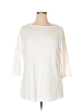 Carole Little 3/4 Sleeve T-Shirt Size 2X (Plus)