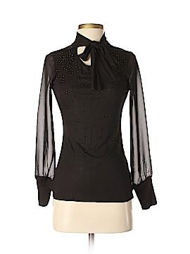 Karen Millen Long Sleeve Top Size Sm (2)