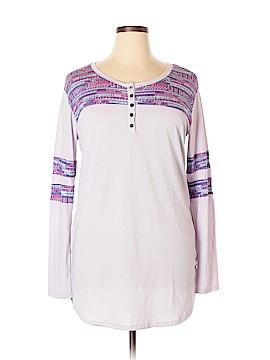 Honey dew Long Sleeve T-Shirt Size L