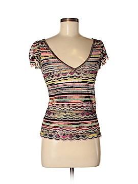 Missoni Short Sleeve Top Size 44 (IT)