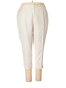Jessica London Linen Pants Size 22 (Plus)