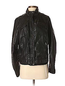 Ci Sono Faux Leather Jacket Size XL
