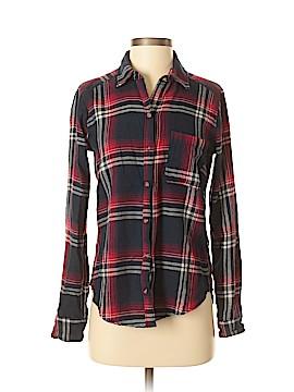 Hollister 3/4 Sleeve Button-Down Shirt Size XS