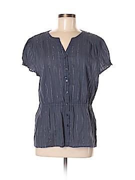 Banana Republic Short Sleeve Blouse Size XL