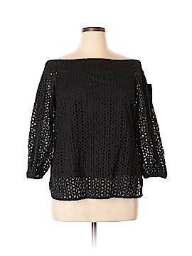 Tibi 3/4 Sleeve Blouse Size 12