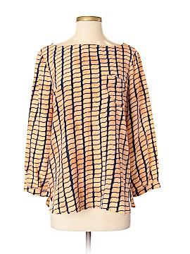 Kelly Wearstler 3/4 Sleeve Silk Top Size 8