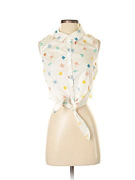 ModCloth Sleeveless Button-Down Shirt Size 1X (Plus)